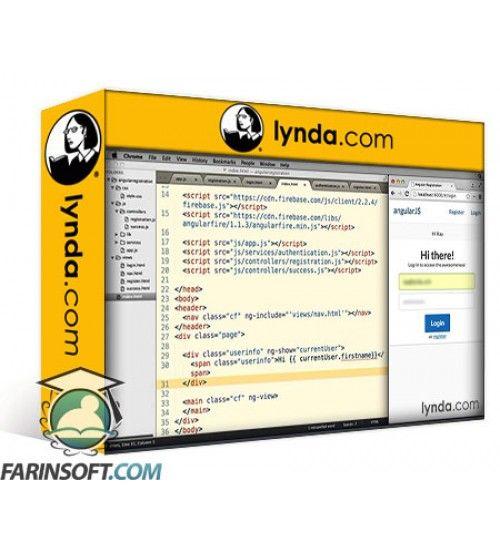 آموزش Lynda AngularJS Adding Registration to Your Application