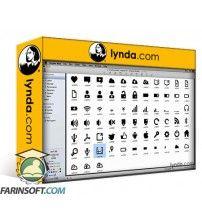 آموزش Lynda Deploying Icon Fonts for the Web