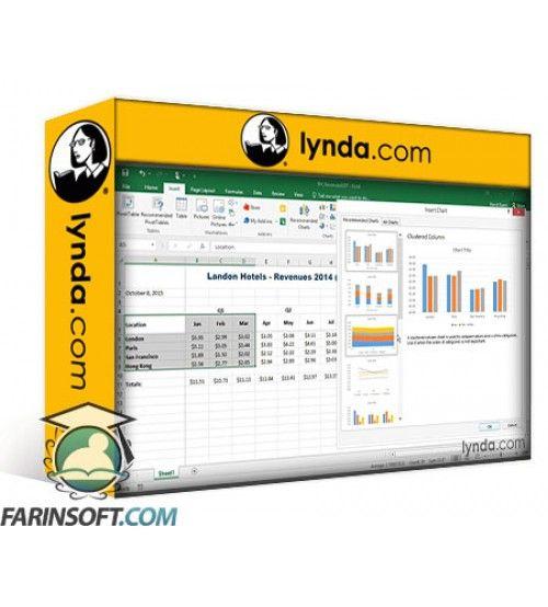آموزش Lynda Up and Running with Excel 2016