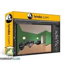 دانلود آموزش Lynda Photoshop for Interior Design Living Room Composite