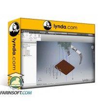 آموزش Lynda Autodesk Inventor: Product Design Workflow