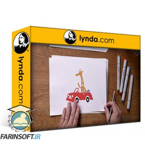 آموزش Lynda.com – 5-Day Drawing Challenge Drawing Inspiration