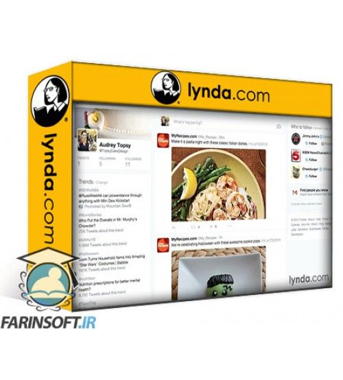 آموزش Lynda Advertising on Twitter