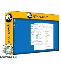 آموزش Lynda Lynda.com - windows 10 configure secure and manage data