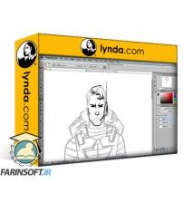 دانلود آموزش Lynda Drawing Good and Evil Comic Book Characters