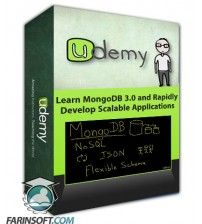 آموزش Udemy Learn MongoDB 3.0 and Rapidly Develop Scalable Applications