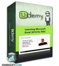 دانلود آموزش Udemy Learning Microsoft Excel 2016 for MAC