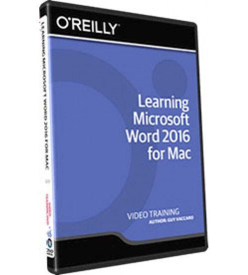 آموزش InfiniteSkills Learning Microsoft Word 2016 for Mac