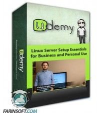 آموزش Udemy Linux Server Setup Essentials for Business and Personal Use