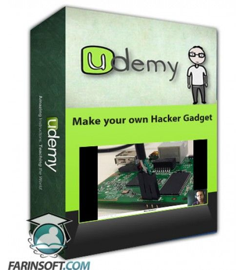 آموزش Udemy Make your own Hacker Gadget