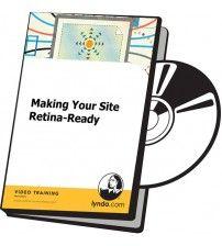 دانلود آموزش Lynda Making Your Site Retina-Ready
