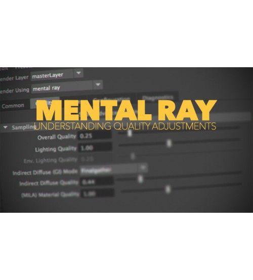 نرم افزار رندر Mental Ray 2016