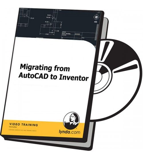 آموزش Lynda Migrating from AutoCAD to Inventor