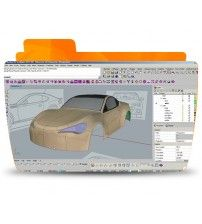 آموزش Digital Tutors Modeling Organic and Complex Shapes Using T-Splines in Rhino