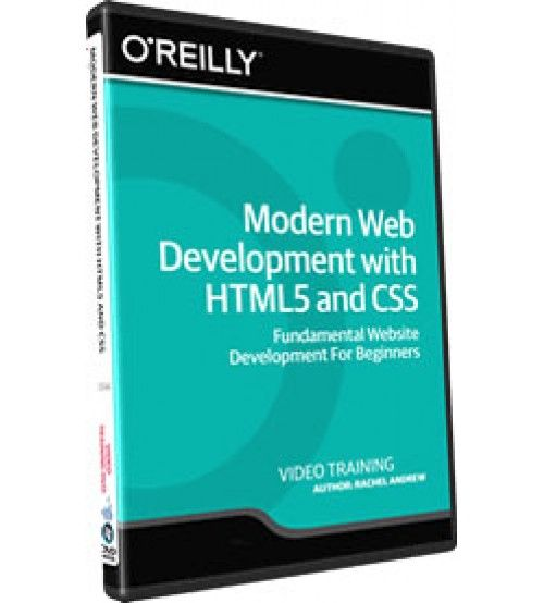 آموزش InfiniteSkills Modern Web Development with HTML5 and CSS