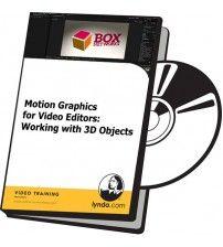دانلود آموزش Lynda Motion Graphics for Video Editors: Working with 3D Objects
