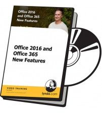 آموزش Lynda Office 2016 and Office 365 New Features