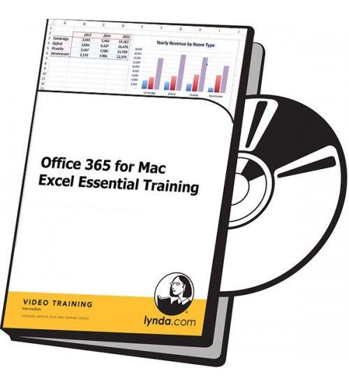 آموزش Lynda Office 365 for Mac Excel Essential Training