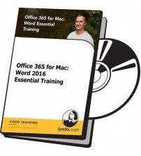 آموزش Lynda Office 365 for Mac: Word 2016 Essential Training