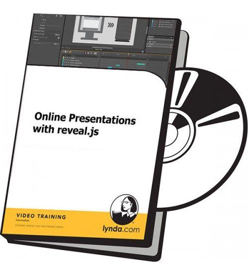 آموزش Lynda Online Presentations with reveal.js