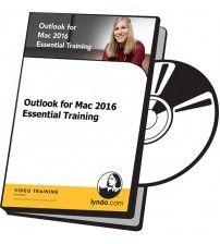 آموزش Lynda Outlook for Mac 2016 Essential Training