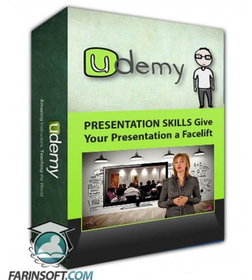 آموزش Udemy PRESENTATION SKILLS Give Your Presentation a Facelift