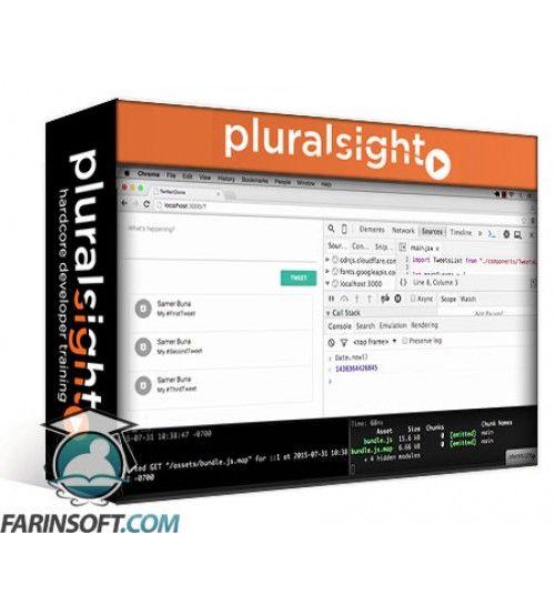 آموزش PluralSight ReactJS on Rails- Building a Full Stack Web App