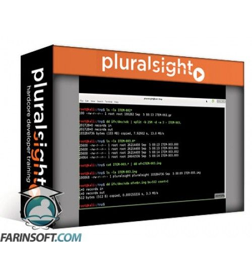 دانلود آموزش PluralSight Digital Forensics Tools in Kali Linux Imaging and Hashing