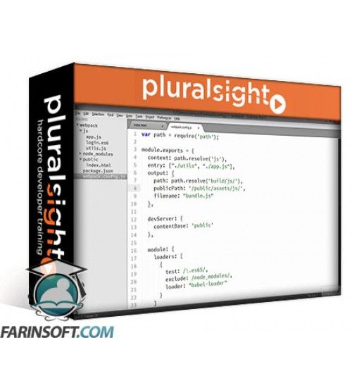 آموزش PluralSight Webpack Fundamentals
