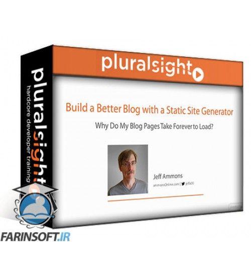 آموزش PluralSight Build a Better Blog with a Static Site Generator