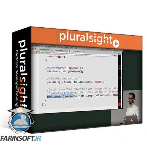 آموزش PluralSight Building in React with Introduction to Flux