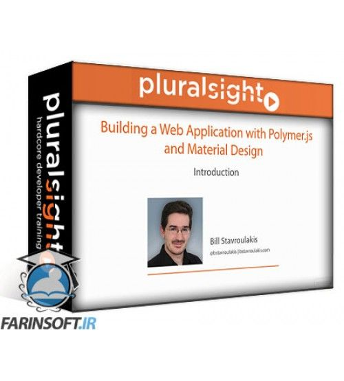 آموزش PluralSight Building a Web Application with Polymer.js and Material Design