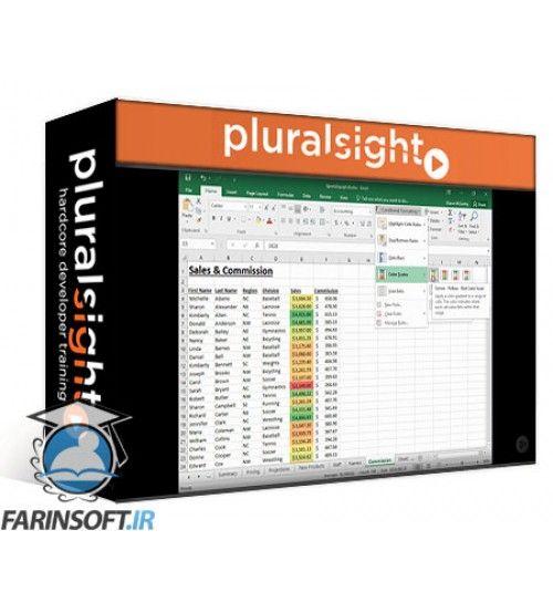 آموزش PluralSight Excel 2016 for Power Users