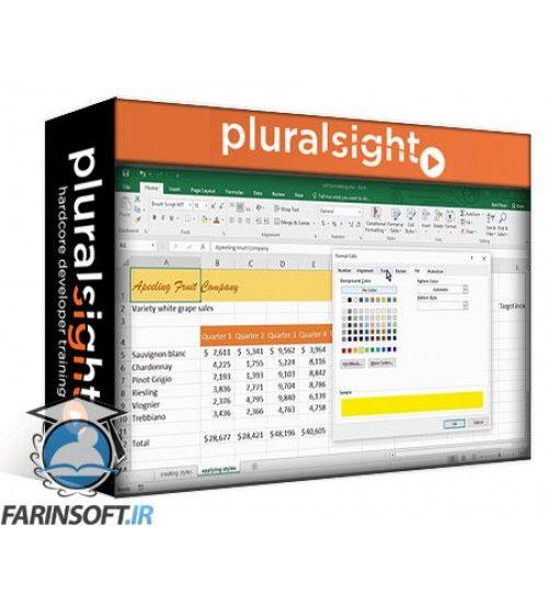 آموزش PluralSight Excel 2016 for Windows and Mac: Essentials