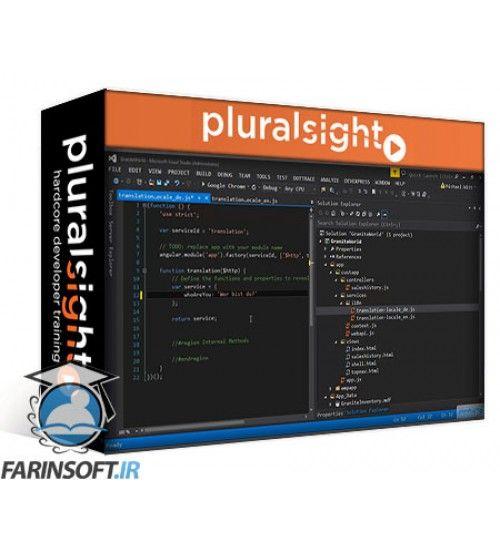 آموزش PluralSight Internationalization with AngularJS and ASP.NET