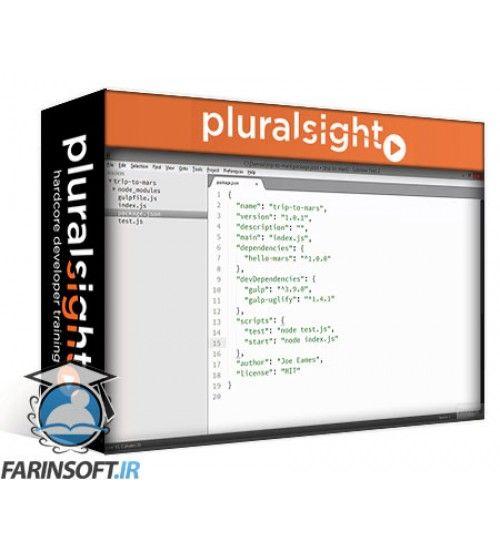 آموزش PluralSight NPM Playbook