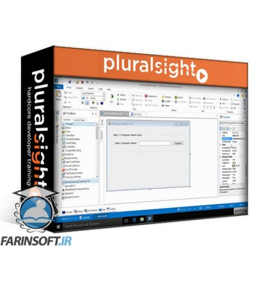 آموزش PluralSight Creating GUIs Using PowerShell Studio 2015 – The Essentials