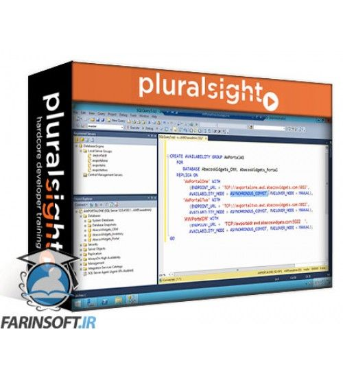 آموزش PluralSight Practical SQL Server High Availability and Disaster Recovery