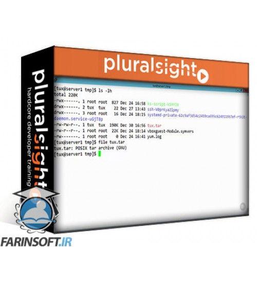 آموزش PluralSight LFCS: Linux Essentials