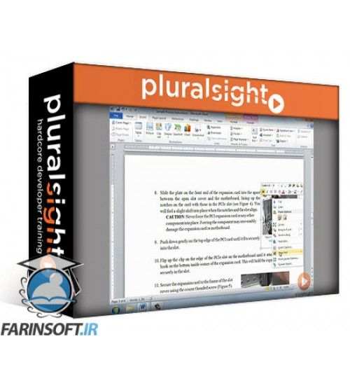 آموزش PluralSight Writing Process Instructions and Directions