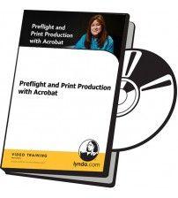 آموزش Lynda Preflight and Print Production with Acrobat