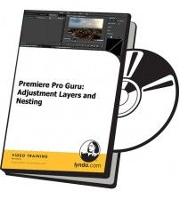 دانلود آموزش Lynda Premiere Pro Guru: Adjustment Layers and Nesting