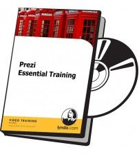 آموزش Lynda Prezi Essential Training