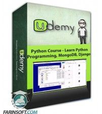 آموزش Udemy Python Course – Learn Python Programming, MongoDB, Django