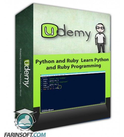 آموزش Udemy Python and Ruby  Learn Python and Ruby Programming