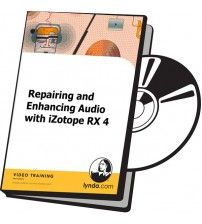 آموزش Lynda Repairing and Enhancing Audio with iZotope RX 4