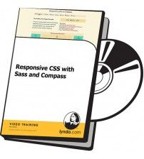 آموزش Lynda Responsive CSS with Sass and Compass