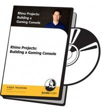 دانلود آموزش Lynda Rhino Projects: Building a Gaming Console