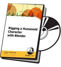 دانلود آموزش Lynda Rigging a Humanoid Character with Blender