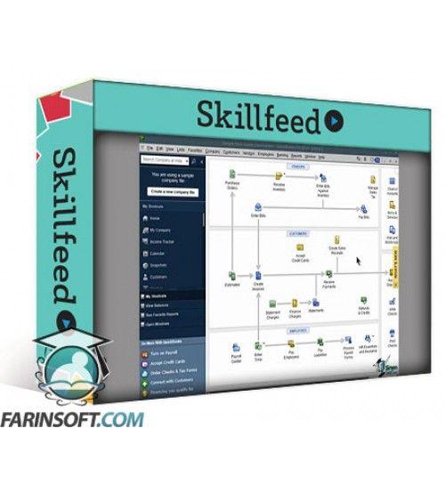 آموزش SkillFeed Learn QuickBooks Pro 2014 Course – Master Small Business Finances